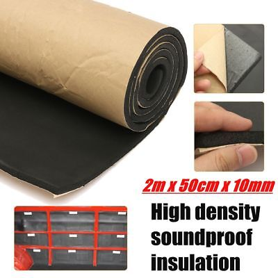Black Flat Panel Audio (Acoustic Foam Flat Panel Studio Soundproofing Wall Panel Car Sound Control Mat)