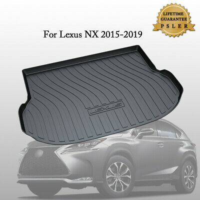 Vehicle Rear Cargo Liner Trunk Tray Floor Mat for Lexus NX200/300/300H 2015-2019