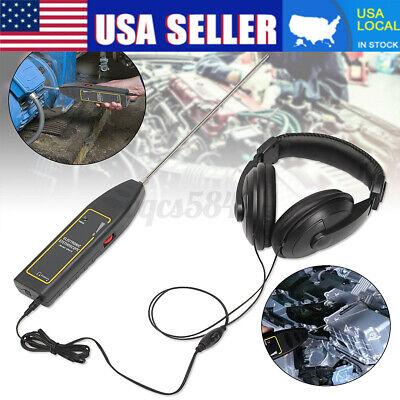 Handheld Ultrasonic Leak Detector Transmitter Water Dust Leak Diagnose Tool Usa