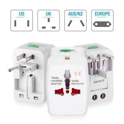 Travel Adapter Charger Converter Universal AC Power Plug Socket US to EU Europe