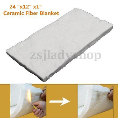 Ceramic Fiber Insulation Mat Blanket Wool 2600 F Ceramics Pad 1x12x24