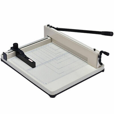 17 Inch A3 Paper Cutter Guillotine Trimmer Cutting Machine Heavy Duty 400 Sheets