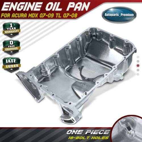 Engine Oil Pan For Acura MDX 07-09 V6 3.7L TL 07-08 V6 3