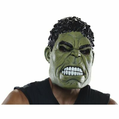 NEW IN PACKAGE Avengers Incredible Hulk Mask Adult Superhero Costume Halloween ](Incredible Hulk Halloween)