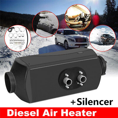 5kW 12V Air diesel Heater For Car Truck Boat Bus Van Trailer LCD Switch Silencer