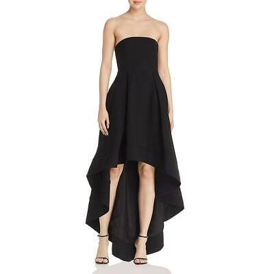 C/Meo Collective Womens Entice Black Hi-Low Evening Dress Gown XS BHFO 1357