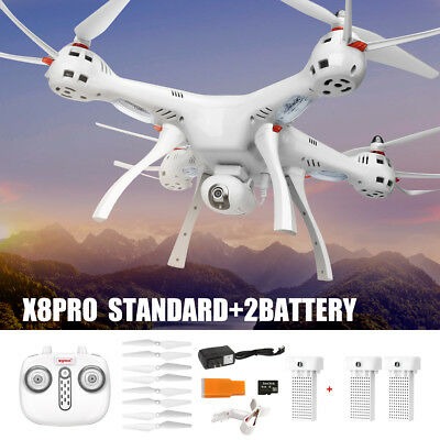 SYMA X8PRO GPS A Key Redress RC Drone WiFi Camera HD FPV Quadcopter Hover Upgrade