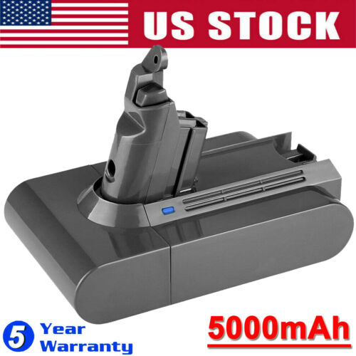 21.6V 5000mAh Battery For Dyson V6 SV03 SV04 SV05 DC58 DC59 DC61 Handheld Animal