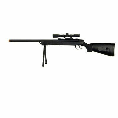 New Cyma ZM51 Bolt Action Airsoft Rifle Gun w/ Scope and Bip