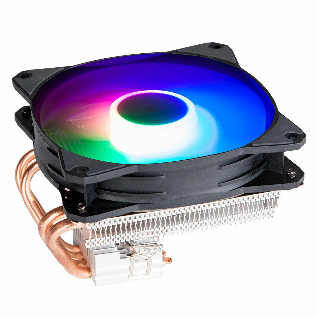 GOLDEN FIELD Z100 CPU Cooler 4 Heatpipes Heatsink LED Coolin