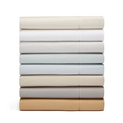 - Hudson Park 600 TC Egyptian Cotton FULL Flat Sheet Slate A393