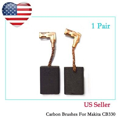 Carbon Brushes Brush For Makita Bhr202 18v Lxt Lithium-ion Cordless 78 Sds-plu