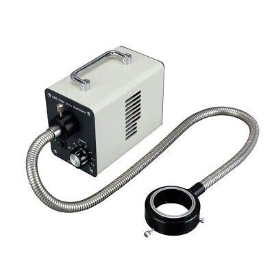 20w Led Cold Fiber Optic Ring Light Microscope Illuminator