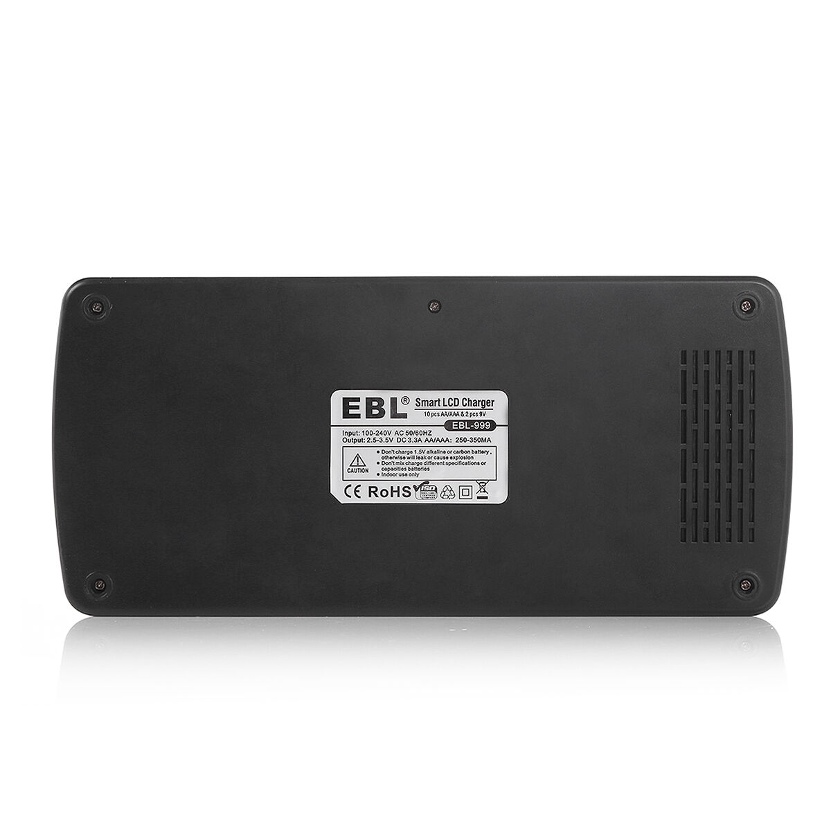 EBL 12Bay LCD Rapid Charger For AA AAA 9V NiMH NiCD Multi Rechargeable Battery