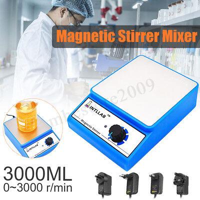 Intllab Magnetic Stirrer Mixer Laboratory Lab 3000rpm Ac 100-240v 3000ml
