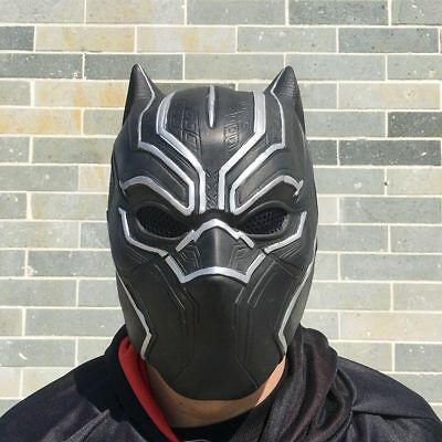 COOL Horror Natural Latex  Panthers Full Face Cosplay Halloween Robot Mask Props (Cool Halloween Latex Masks)