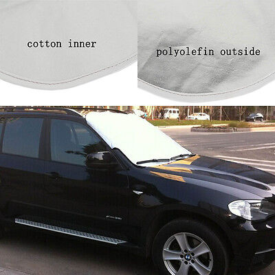 Car Prevent Snow Ice Sun Dust Frost Freezing Windshield Cover Protector Us Stock
