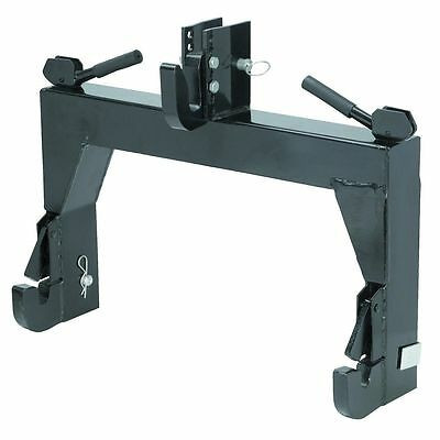 - 3-Point Quick Hitch Category 1 Farming Tractor Implement Attachments Hook Clevis