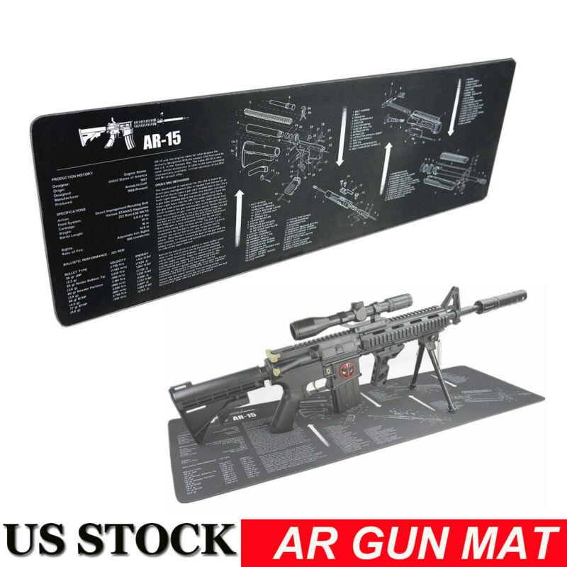 Gun Cleaning Mat Rifle Build AR Gun Maintenance Gunsmithing Tools Cleaning