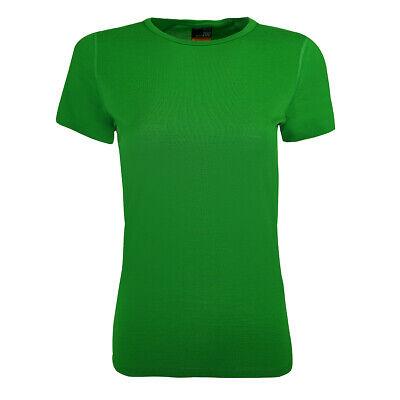 Icebreaker Women's Oasis Crewe T-Shirt Frond M