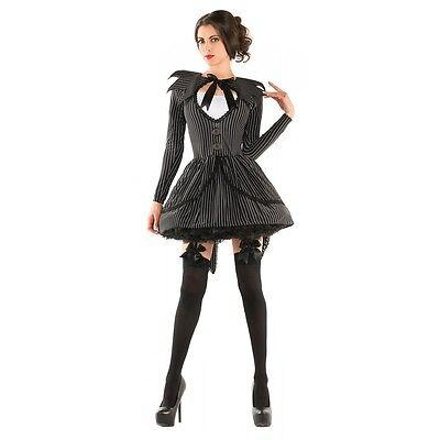 Female Jack Skellington (Jack Skellington Costume Adult Female Halloween Fancy)