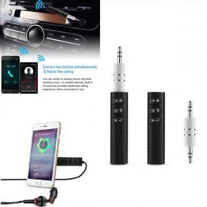 3.5mm Jack Wireless Bluetooth Receiver Audio Adapter Car AUX Headphones Speaker