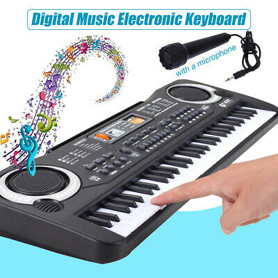 61 key music electronic keyboard digital piano