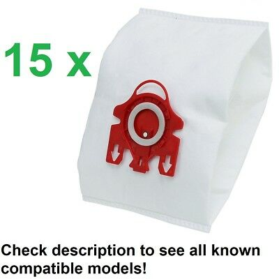 15 Vacuum Cleaner Dust Bags Miele Compact Complete Babycare Medicair & Others