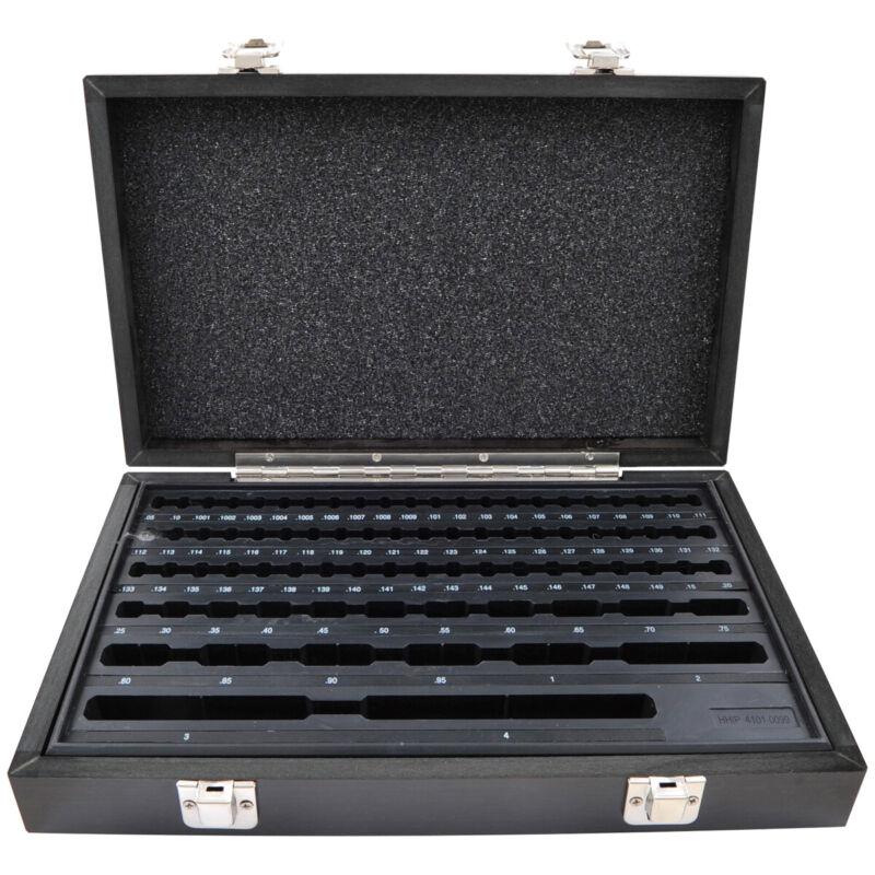 81 PIECE RECTANGULAR GAGE BLOCK SET CASE ONLY (4101-0099)