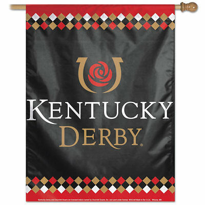 Kentucky Derby House Banner Flag by Wincraft