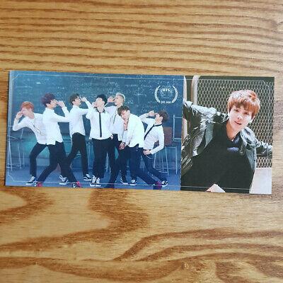 Jin Official Photocard BTS 2nd Mini Album Skool Luv Affair Kpop Genuine