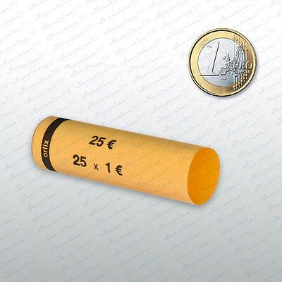 Münzhülsen  1 Euro  102 Stück Münzrollen Münzen Geld