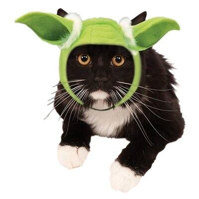 Yoda Cat Headpiece Pet Costume Pet Star Wars Halloween