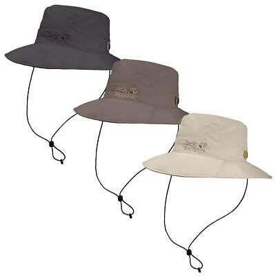 Jack Wolfskin Unisex 2020 Supplex Mesh Button Up Brim Lightweight Sun Hat