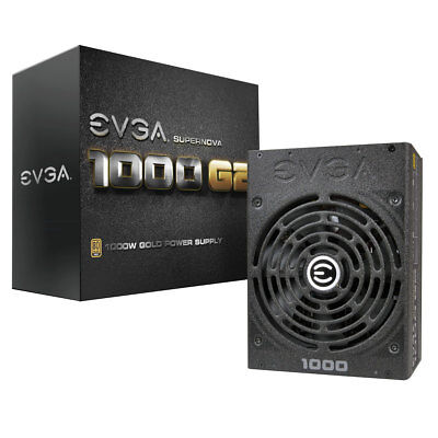 EVGA SuperNOVA 1000 G2, 80+ GOLD 1000W, Fully Modular,  120-G2-1000-XR