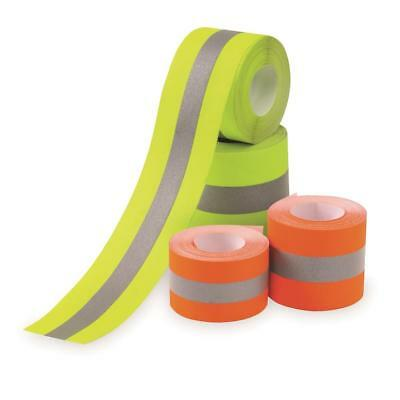 Reflective Tape Orangesilver Sew-on 2x10 Yards 30 Ft