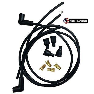 John Deere H Tractor Copper Core Spark Plug Wire Set