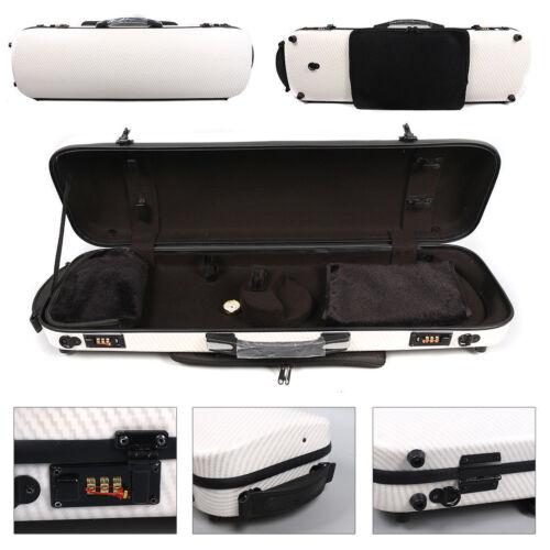 Liyin Hard Violin Case 4/4 Violin Case Carbon Fiber Strong Light&strong #01