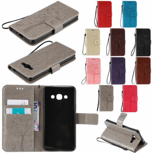 For Samsung Galaxy NOTE 9 8 5 4 3 Leather Wallet Slot Flip F