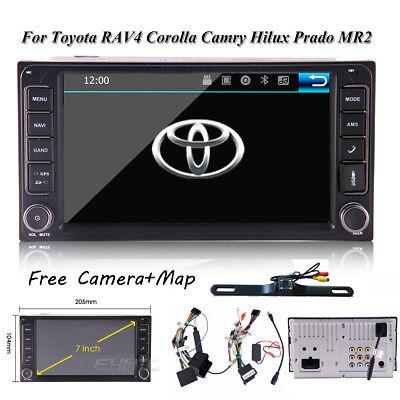 Car Stereo Radio No-DVD Player GPS Navigation For Toyota Corolla Camry Sienna (2009 Toyota Corolla Stereo)