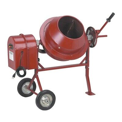 Portable Cement Mixer Concrete Use For Small Construction Works 1-14 Cubic Ft.