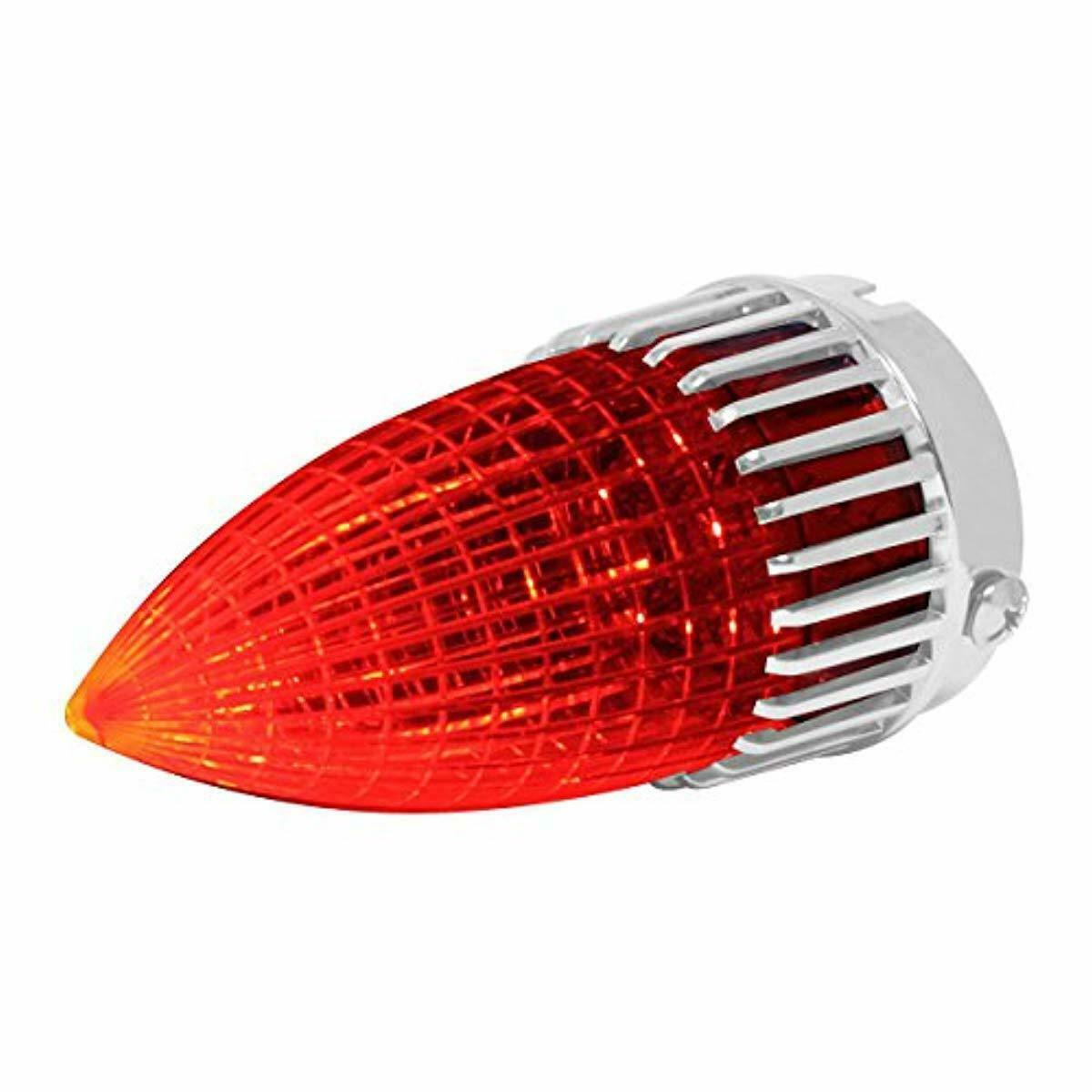 Caddy 1,Taillight Brake Stop Lamp Red Bulbs Assembly 59 1959 Cadillac 59 Cad