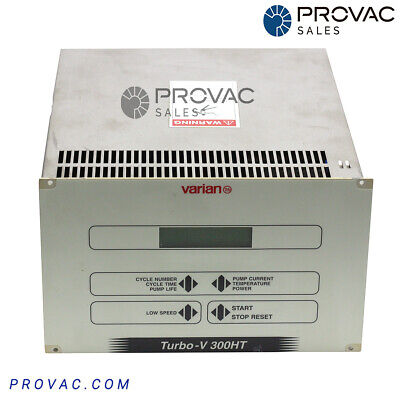 Varian Tv-300ht Turbo Pump Controller Rebuilt By Provac Sales Inc.