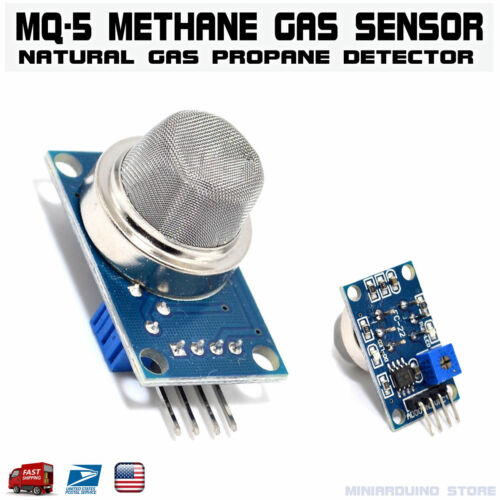 MQ-5 Methane LPG Natural Gas Propane Sensor Detector Module Arduino