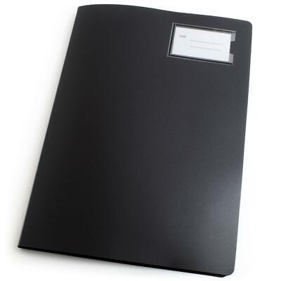 A4 Sheet Page Presentation Book Portfolio Project Folder Poly 30 60 100 Pocket