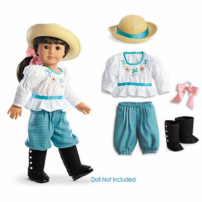 American Girl SAMANTHA BICYCLING OUTFIT set bloomers gaiters Samantha's  NO Doll