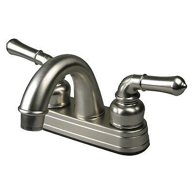 RV / Mobile Home Bathroom Lav Bath Sink Faucet, Brushed Nickel eBay Motors