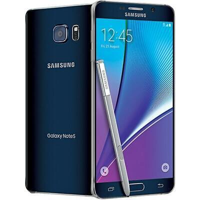 Usado, Samsung Galaxy Note 5 - 32GB - Black (Factory GSM Unlocked; AT&T / T-Mobile) segunda mano  Embacar hacia Argentina