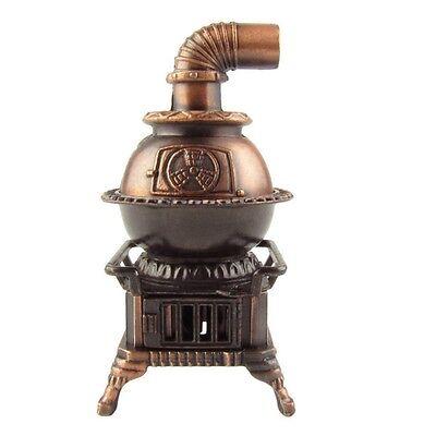 1:12 Scale Model Miniature Pot Belly Stove Dollhouse Accessory Pencil Sharpener