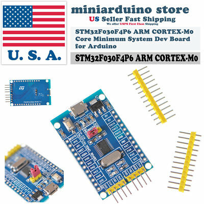 Stm32f030f4p6 Arm Cortex-m0 Core Minimum System Dev Board For Arduino